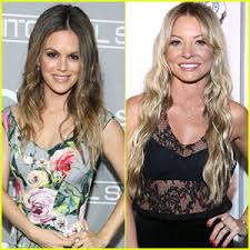 Rachel Bilson and Kaitlin Doubleday