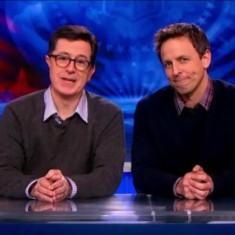 Stephen Colbert to Seth Meyers,