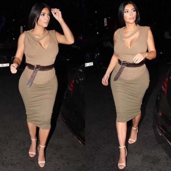 Kim-Kardashian-belted-look