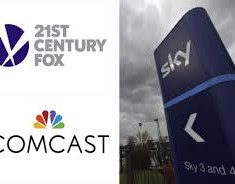 Comcast Increases Sky Bid