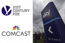 Comcast Increases Sky Bid